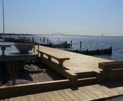 Oak Beach Deck